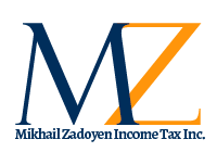 Mikhail Zadoyen Income Tax Inc